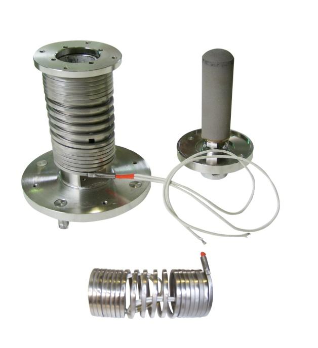 热电偶温度探头控制温度,自限温电热带的自动限温功能,可以保证采样管